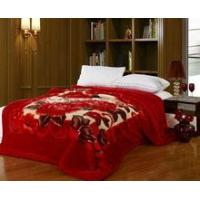 Wholesale Super soft printed mink blanket/acrylic blanket/raschel blanket from china suppliers