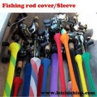 Wholesale colorful fishing rod covers/sleeves from china suppliers