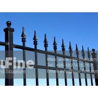Wholesale Garden Decorative Wrought Iron Fence from china suppliers