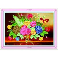 Wholesale 5d DIY Diamond painting coloful flower home decoration accessories from china suppliers