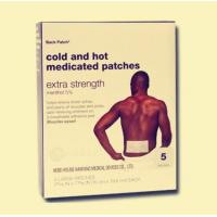 Wholesale cold and hot medicated patch from china suppliers