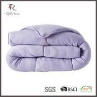 Wholesale Quilt Best selling bedspread quilt, soft 3d quilt, luxury fleece bed quilt from china suppliers
