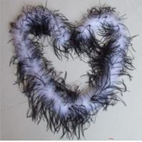 China OSTRICH FEATHER BOA NATURAL OSTRICH FEATHER BOA on sale