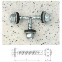 Buy cheap Self-drilling Screws Hex Washer Head with EPDM from wholesalers