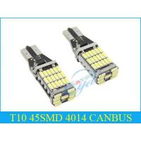 Wholesale T10 45SMD 4014 CANBUS from china suppliers