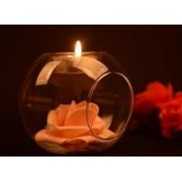 Wholesale Glass ball shape votive candle holder from china suppliers