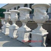 Wholesale big marble planter from china suppliers