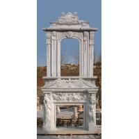 Wholesale marble fireplace mantel from china suppliers