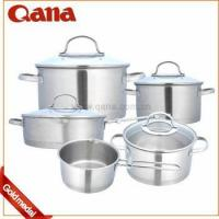 Induction Stainless steel handle cookware pots