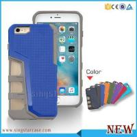 Wholesale Newest Design Chrome Knuckle Combo Hybrid Case For i Phone 6/6s from china suppliers