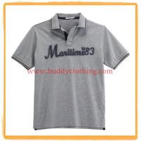 Wholesale Embroidered Pique Polo Shirt 11004 from china suppliers
