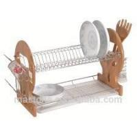 Wholesale 2 Tier metal dish drying rack from china suppliers