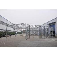 Wholesale Waterproof Prefabricated Sheds / Metal Car Sheds With Galvanized Steel Frames from china suppliers