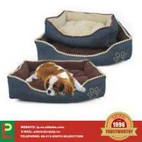 Wholesale dog bed with paw print cushion pads from china suppliers
