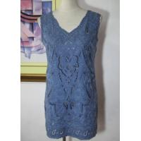 Wholesale Embroidery Knit Dress Sleeveless Dress from china suppliers