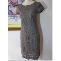 Wholesale Embroidery Knit Dress Short Sleeve Dress from china suppliers