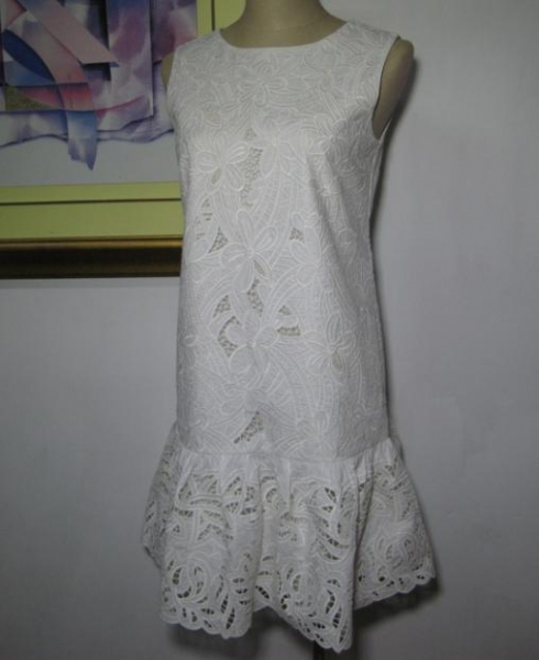 Quality Embroidery Woven Skirts Trumpet Skirts for sale