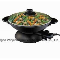 Wholesale Wok Electric Woks and Stir Fry Pans, 2-in-1 from china suppliers