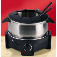 Wholesale Wok Electric Stainless Steel Fondue Set from china suppliers