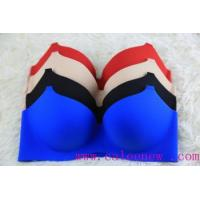 Wholesale 2015 popular new design seamless puah up sexy bra from china suppliers
