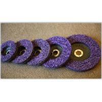 Buy cheap Cup wheel/Strip disc with fiberglass backing(purple) from wholesalers