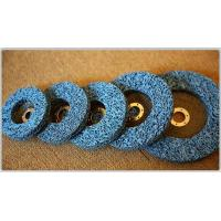 Buy cheap Cup wheel/Strip disc with fiberglass backing(blue) from wholesalers