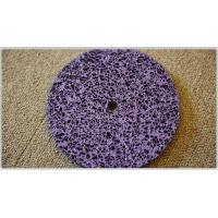 Buy cheap Flat wheel/Strip disc with hole (purple) from wholesalers