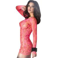 Red hollow out sexy babydolls for womenC346536A US$3.95