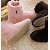 Wholesale Top quality 2015 hot sale high quality womens terry plush slipper boots from china suppliers