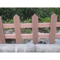 Wholesale outdoor wpc fence like real wood from china suppliers