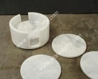 marble coaster for cup