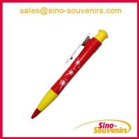 Wholesale Promtional Plastic Jumbo Pen with rubber grip from china suppliers