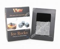 Wholesale natural stone ice cube 9pcs per set from china suppliers