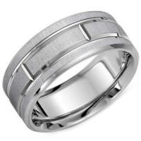 Wholesale COI White Tungsten Carbide Ring With Platinum Plating - TG3922[TG3922] from china suppliers