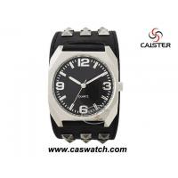 Buy cheap Watches men Big black rivets watch men from wholesalers