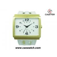 Buy cheap Big white and gold women watch from wholesalers