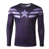 Mens Casual Long Sleeve T-shirt Compression Sports Blouse