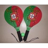 Wholesale Promotion Wooden beach tennis rackets with holes, Wooden beach rackets from china suppliers