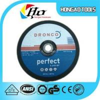 Buy cheap Abrasive cutting wheel,cutting wheel,Abrasive Wheel for Portable High Speed Saws from wholesalers