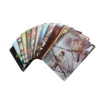 China spiral plastic 3d lenticular notebook cover on sale