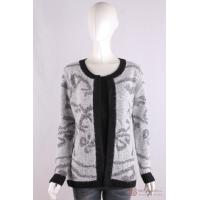 Wholesale C-017 O-neck womens, plaited knit Cardigan,Autumn/Winter, acrylic/cotton/nylon/alpaca sweater from china suppliers