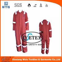 Wholesale Flame retardant rope Orange pyrovatax cotton faddish workwear with FR and heat insulation material from china suppliers