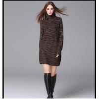Wholesale European lady high fashion straight sweater winter dress for women from china suppliers