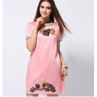 Wholesale hot sale embroider loose dress from china suppliers