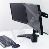 Wholesale Desk Mounts TS732 Multi Mounts - Large Dual LCD Monitor Desk Mount - Monitor size up to 32 TS732 from china suppliers