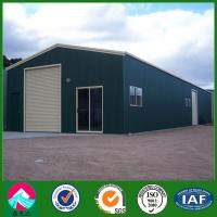Pre-Engineered Structural Steel Warehouse, Garage Construction
