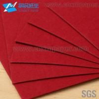 Wholesale High Quality red colour paper/hard paper board from china suppliers