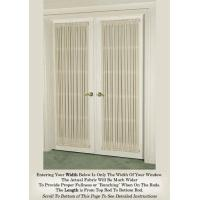 China French Door Curtains and Door Panel Curtains on sale