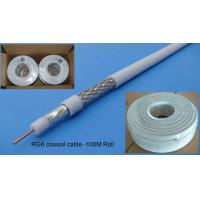 Wholesale CCTV Series 0.8mm CCS RG6/RG6U Coaxial Cable from china suppliers
