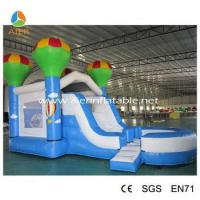 Wholesale 2016 popular kids bouncer with slide inflatable combo commercial inflatable combo from china suppliers